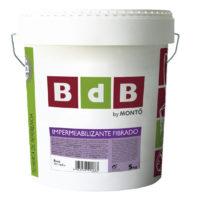 BdB IMPERMEABILIZANTE FIBRADO BLANCO20 kg.