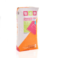 CEMENTO COLA FLEXIBLE GEL BdB C2TES1 BLANCO 25 kg.
