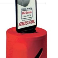 CORONA BI-METALICA HSS 83 mm.