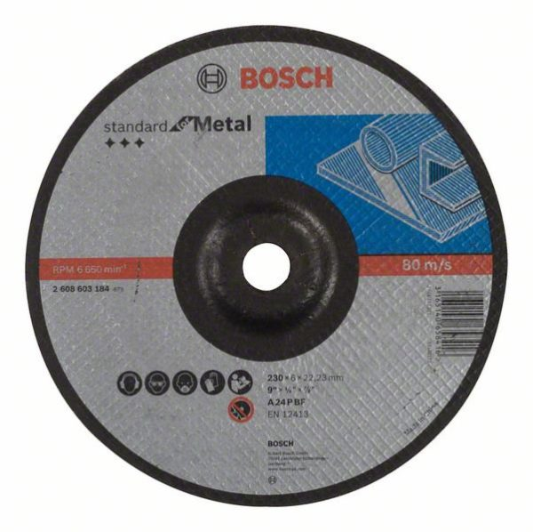 DESBASTE STANDARD METAL 115 mm.