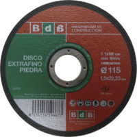 DISCO BdB CORTE EXTRAFINO PIEDRA 115 mm.