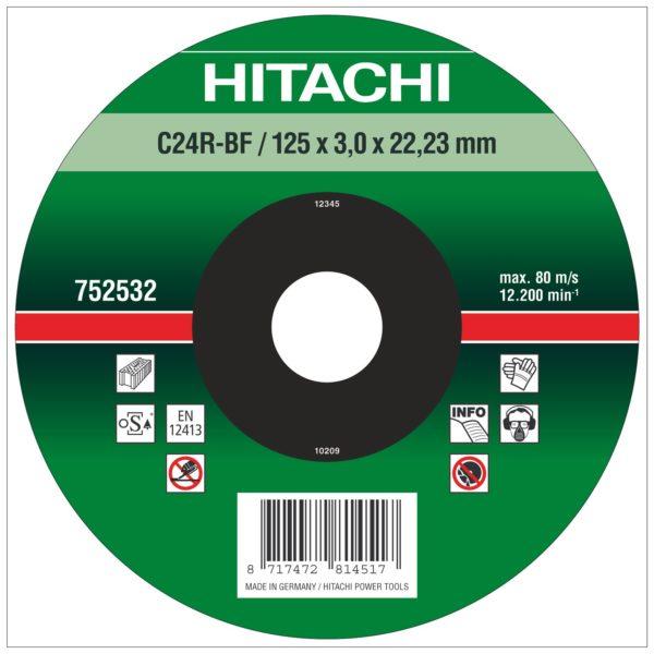 DISCO CORTE TIPO C24R 115 mm.