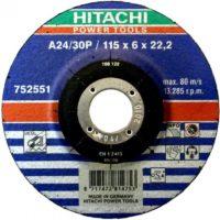 DISCO DESBASTE TIPOA24/30P 115 mm.