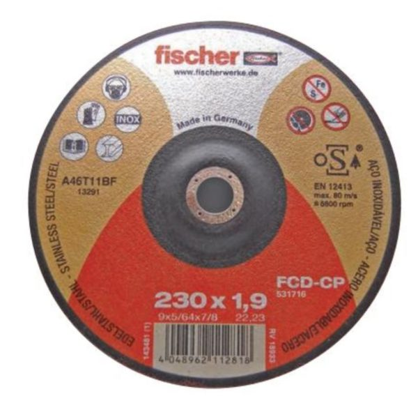 DISCO FCD-FP INOX 115 mm.