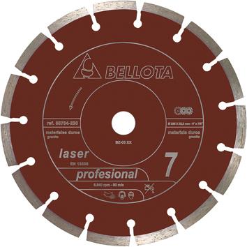 DISCO TURBO MATERIALES DUROS 230 mm.
