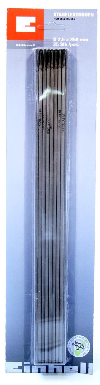 ELECTRODOS 2.5 x 350 mm.