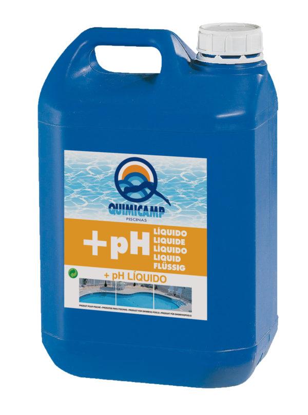 ELEVADOR pH LÍQUIDO 6 l.
