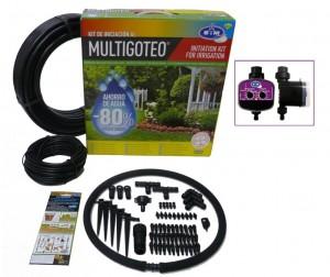 Instala riego por goteo en tu jardín y controla tu consumo de agua