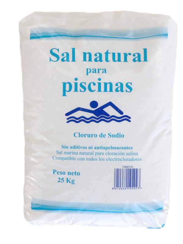 SACO SAL NATURAL PISCINAS 25KG