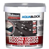 SILICONA LIQUIDA AQUABLOCK GRIS 25 kg.
