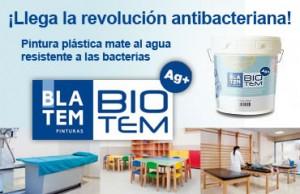 Acriblatem, pintura anti-bacteriana