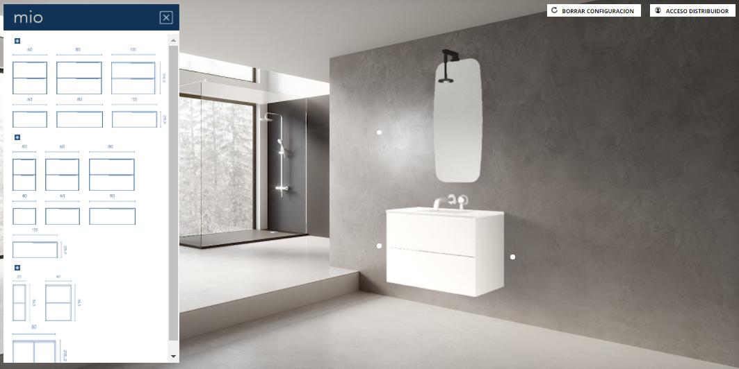 Diseña tu baño con el nuevo Configurador Virtual de Royo