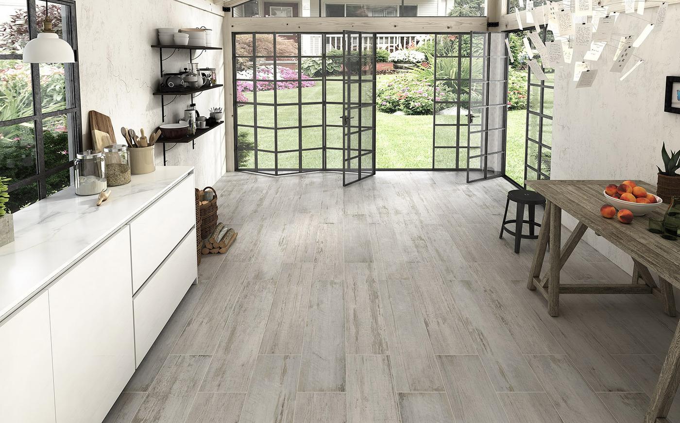 Ideas para revestir y pavimentar cocinas con azulejos