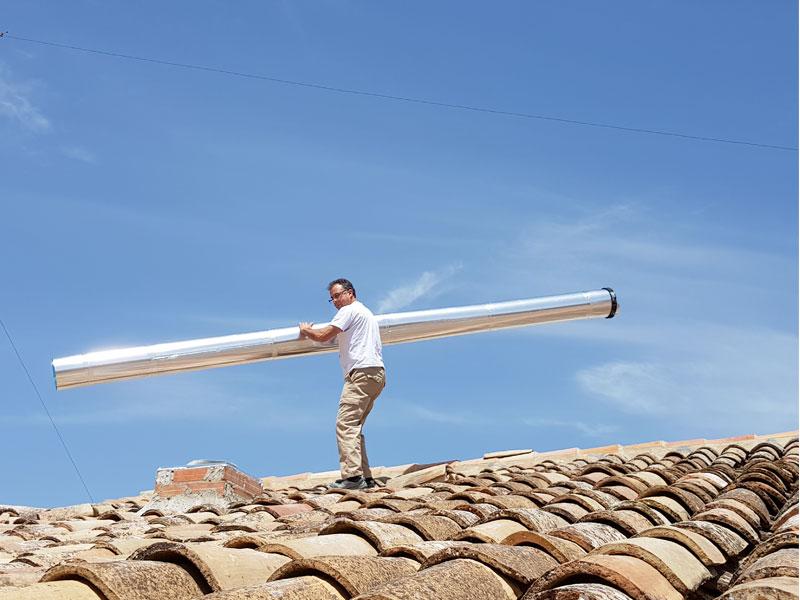 ¿Sabes como funcionan los tubos solares?